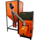 Твердотопливный котел GTM Комфорт 30 кВт + горелка UNI 25 кВт